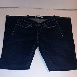 Levi's 529 Nwot Ladies Curvy Bootcut jeans